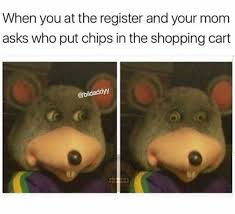 Shopping Cart Meme - dopl3r com memes when you at the register and your mom asks who