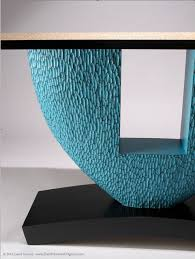 Turquoise Console Table Modern Console Table Carved Wood Turquoise Piant Custom Console