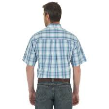 Rugged Outfitters D U0026d Texas Outfitters Wrangler Men U0027s Rugged Wear Grey Plaid Shirt