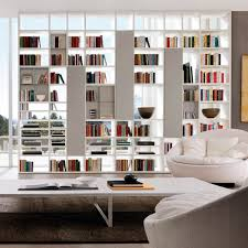 wall mounted bookcase contemporary lacquered wood oak z002