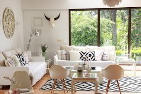 canap deco deco salon moderne contemporain avec canap d angle en tissu cuir