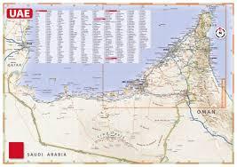 map arab maps of united arab emirates detailed map of uae in