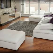 Inexpensive Rug Gray Stain Wall Come With White Stain Wooden Floating Shelf With