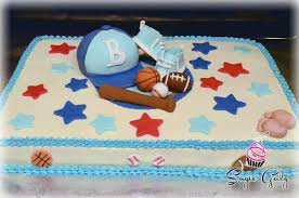 sport themed baby shower sports theme baby shower cakes party xyz