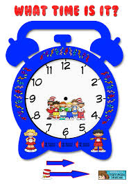What Time Is It Worksheet Your Own Clock Elementary Worksheet
