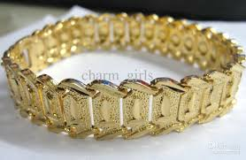 gold man bracelet images 2018 3 style choose brand new men 24k yellow gold gep solid fill jpg