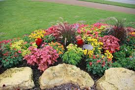 gardening u0026 landscaping annual flower bed designs interior
