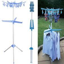 Folding Clothes Dryer Rack Multi Portable Folding Standing Tier Garment Clothes Shirt Hanger