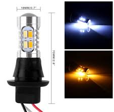 2 x 1156 ba15s 35w 20smd car led drl turn signal light tail