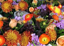 fall flowers for wedding beautiful flowers for your fall wedding groovin gourmets