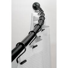 Bath Bliss Curved Shower Rod Amazon Com Interdesign Wall Mount Curved Bathroom Shower Curtain
