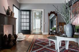 and airy plant filled apartment in östermalm sweden