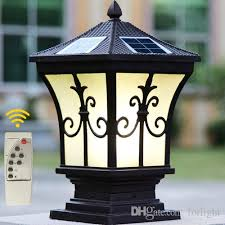 wholesale solar lamp post buy cheap solar lamp post from chinese