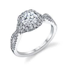 engagement settings diamond engagement rings sylvie collection