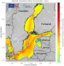 Baltic Sea Map Environment U003e Underwater Noise In The Baltic Sea A Risk For