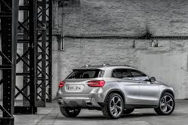 crossover mercedes mercedes gla crossover concept details and pictures