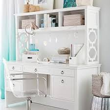 Pottery Barn White Desk With Hutch Teen Desks Pbteen