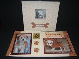 dog scrapbook album dog scrapbook album puppy scrapbook album by madeforyouscrapbooks