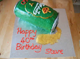 beer can cake carlsberg beer can cake cakecentral com