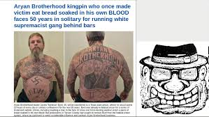 Aryan Nation Flag Aryan Brotherhood Kingpin Gets 50 Years In Solitary Youtube