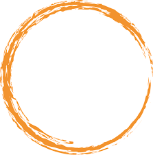 free image on pixabay orange round circle paint brush
