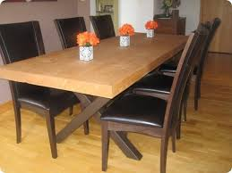Build A Dining Room Table Home Design Ideas And Pictures - Making dining room table