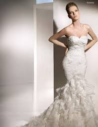 picture of mermaid style wedding gowns inspiration