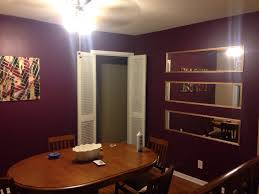 Gold And Purple Dining Room Sherwin Williams Mature Grape Home - Purple dining room