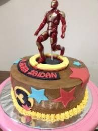 birthday cake iron man u2013 ayoetoro u0027s happy tummy happy life