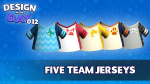 club penguin island design of the day five different jerseys