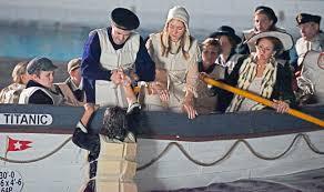 just add water crew for titanic film u0027unsinkable u0027 creates night