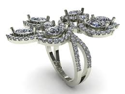 3d printed engagement ring 3d printed jewelry to take market by bdi