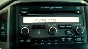 04 honda pilot radio code how to reset you honda s anti theft radio security by matt nimey