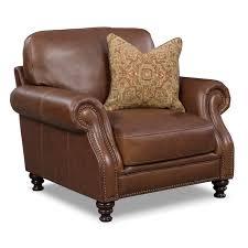 living room furniture carrington tobacco chair rustic