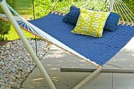 how to build an indoor hammock stand archives futon designs and