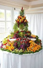 fruit table display ideas cascading fruit display fruit displays fruit tray displays and