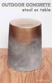 Concrete Tables For Sale Diy Ify Outdoor Concrete Table Stool For Under 15 Concrete