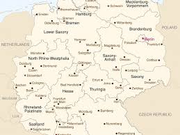 German States Map by Download Map German States Major Tourist Attractions Maps