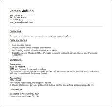 Best Resume For Accounting Job by Accountant Job Description Job Description Components