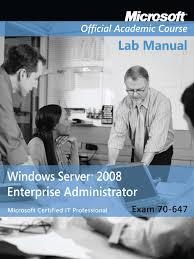 download exam 70 647 windows server 2008 enterprise administrator
