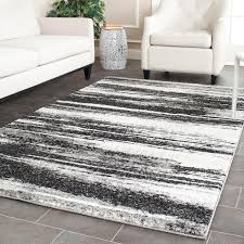 Modern Abstract Rugs Safavieh Retro Modern Abstract Grey Light Grey Distressed