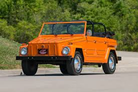 volkswagen thing 1974 volkswagen thing fast lane classic cars
