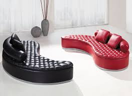 Red Modern Furniture by Fun And Unique Sofa Designs