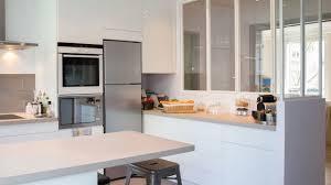 cuisine blanche ouverte sur salon cuisine blanche ouverte sur salon 1 verri232re atelier tout