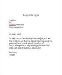 resignation letters reminders teacher resignation letter 30 free