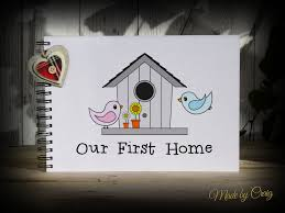 scrapbook personalised our first home photo album new home