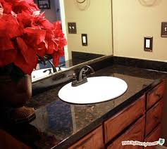 Paint Laminate Vanity Ugly Counters Learn How To Refinish Laminate Counters To Look