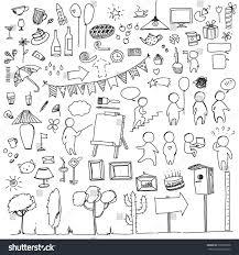 chalkboard halloween cat clear background set doodles on various topics on stock vector 302393558 shutterstock