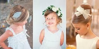 flowergirl hair flower girl hairstyles papilio kids