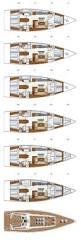 Luxury Yacht Floor Plans by Hanse 575 Team Windcraft Australia U0026 New Zealand